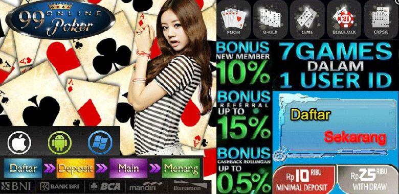 Domino Online Terpercaya Deposit Termurah