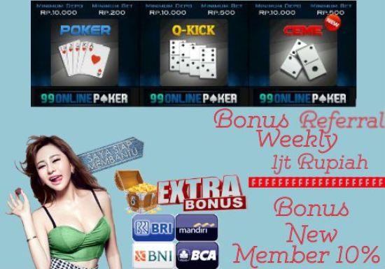 Agen Domino Deposit 10 Rb