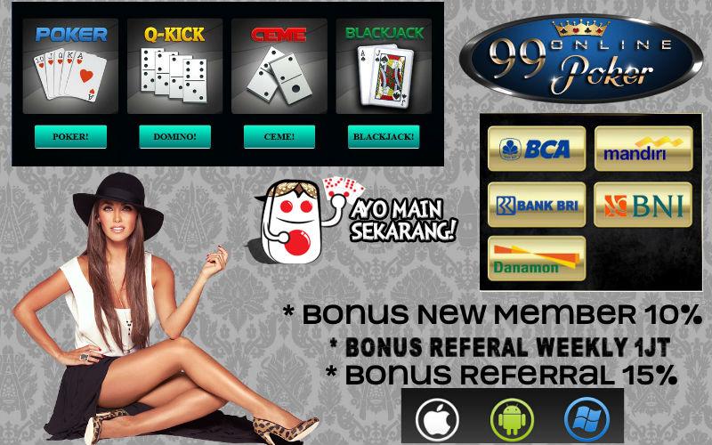 Agen Poker Online Deposit 10 Rb