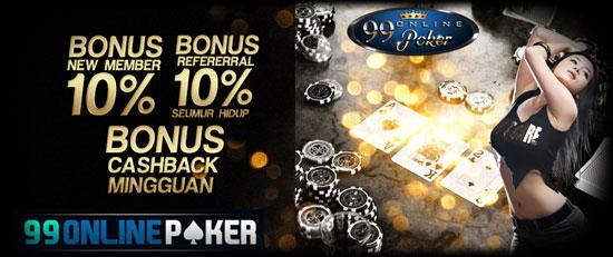 Memakai Bonus Cashback Domino Qiu Qiu