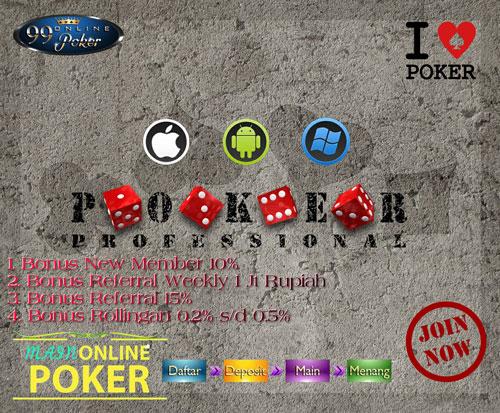 Situs Poker Deposit 10rb Yang Terbaik Di Indonesia