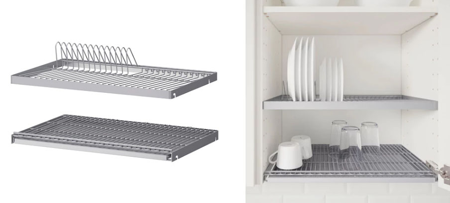 kitchen drying rack black faucet finnish the dishes simple nordic design beats dishwashers utrusta dish cabinet racks from ikea may not be available in all countries