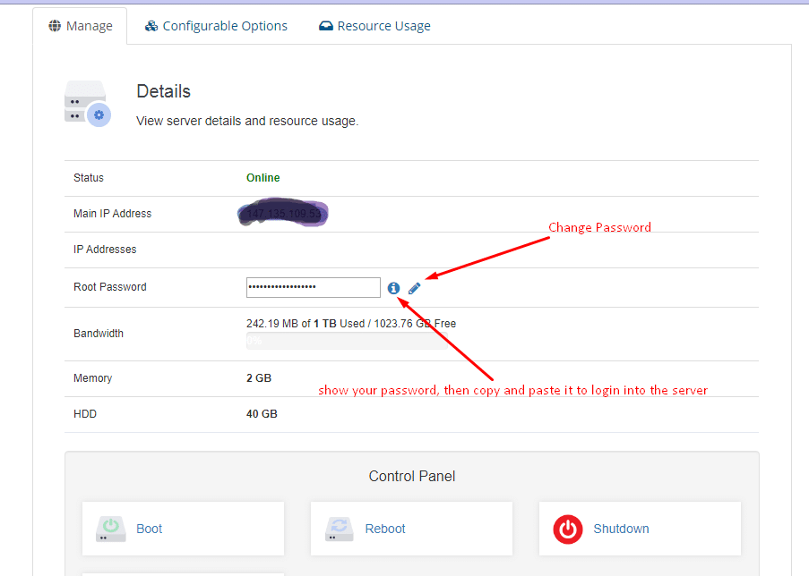 New Features and Function of the RDP VPS Panel