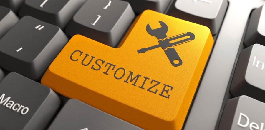 Customize Website