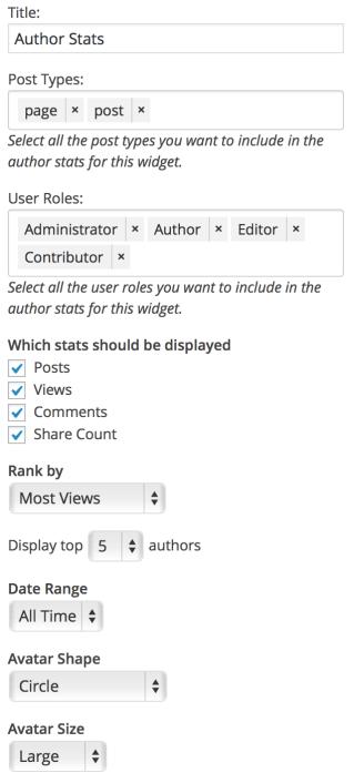 author-stats-widget-settings