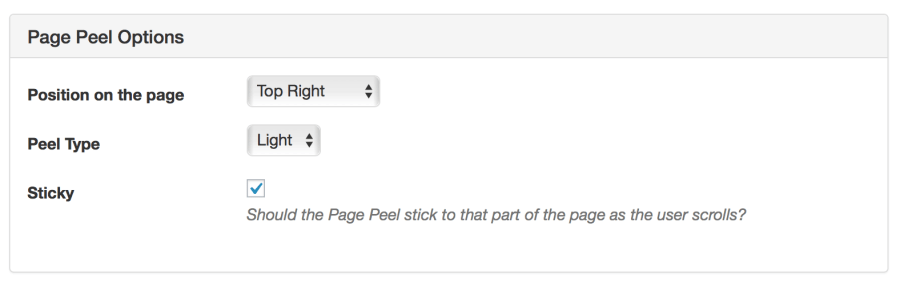 page-peel-ads-options