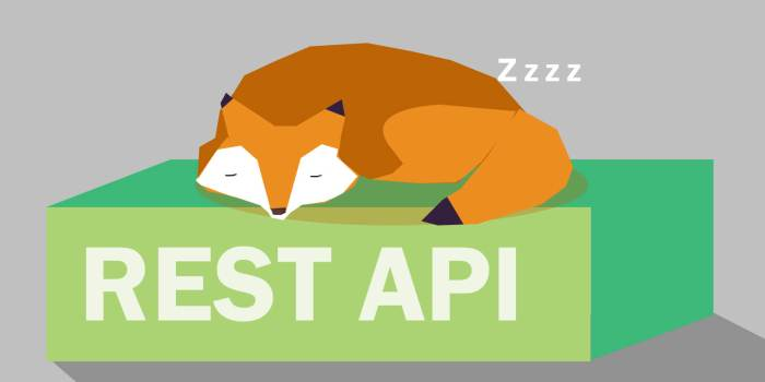 What is REST and how is it used in a API?
