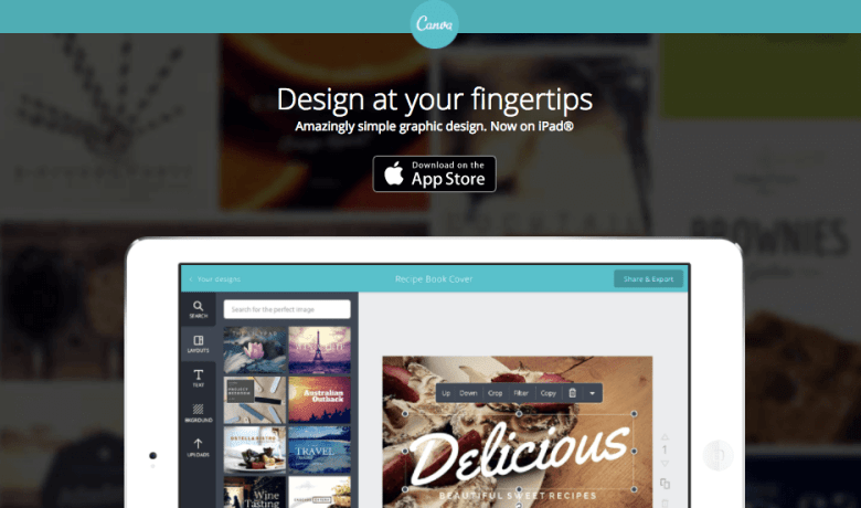 App Canva per iOS