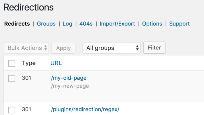 Redirection WP Plugin - I migliori plugin SEO per WordPress