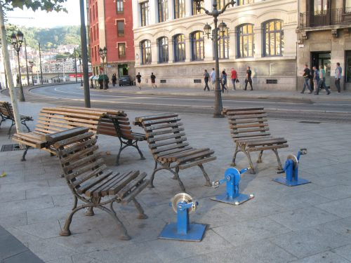 easy cycling - park seats and cycle peddles