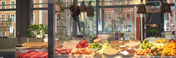 neat market stall
