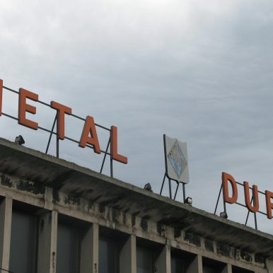 Metal Duro - signage