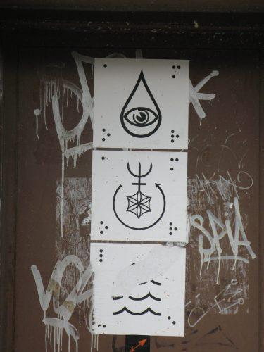symbolic signage