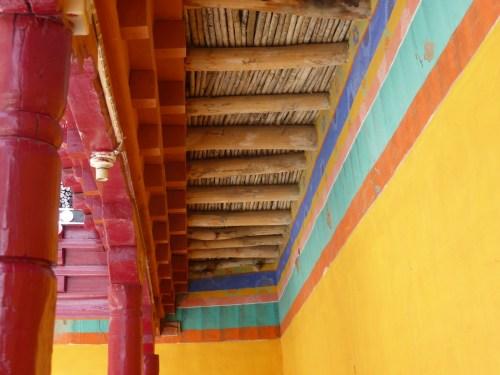 monastery internal roof detail