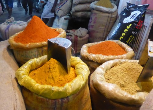 earth coloured spices