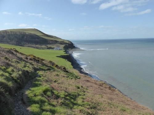 view along coast edge