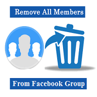 HOW TO REMOVE ALL MEMBERS OF A GROUP OF FACEBOOK IN A SINGLE TIME