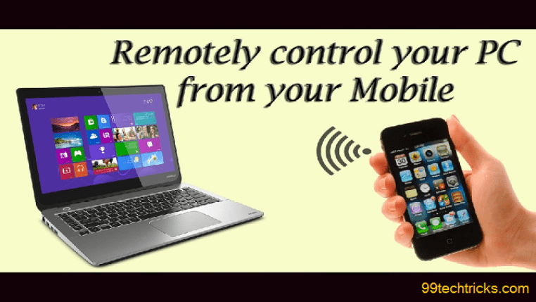 How to control your pc with android device