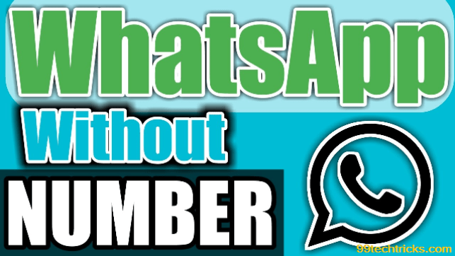 How To Activate Whatsapp Without Sim Card or Mobile Number