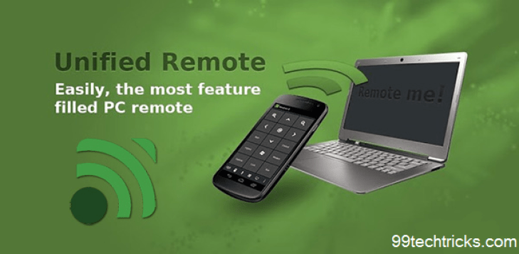 control your pc with android device