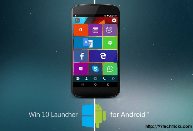 Windows 10 Launcher