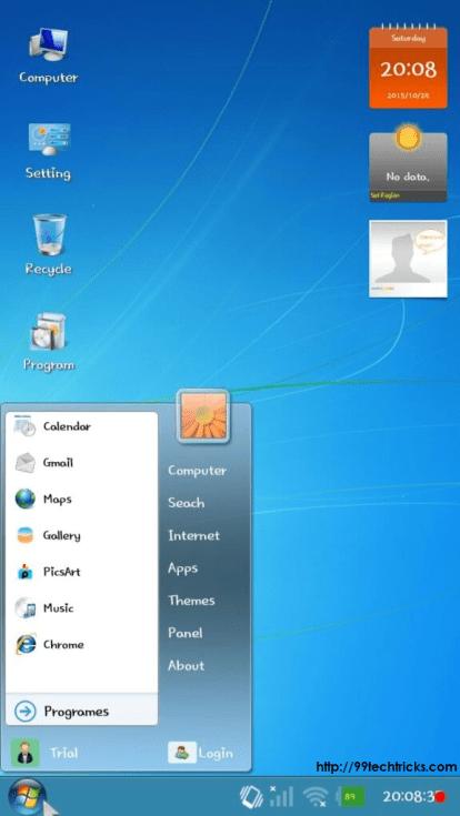 Download Windows 7 launcher