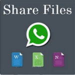 How To Share Zip Pdf Apk Doc And Exe Files On Whatsapp