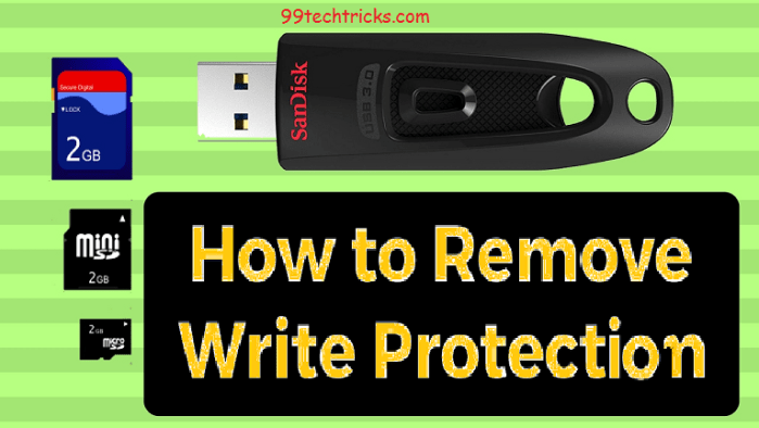 How to Repair Corrupted or write protected SD card or Pendrive