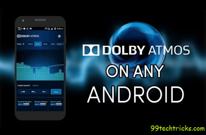 How To Install Dolby Atoms In Android Device