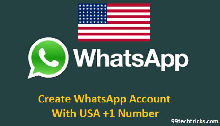 Whatsapp with US numberWhatsapp with US number