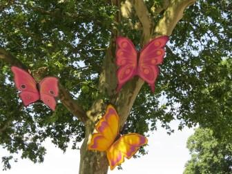 Kunst am Baum - Schmetterlinge in Kaiserslautern
