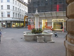 Brunnen in Basel (Sui)