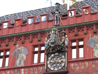 Basel Rathausuhr