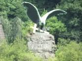 Der preussische Adler schützt die christliche Kultur in Deutschland