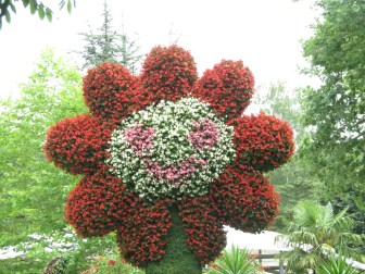 Blumeninsel Mainau am Bodensee
