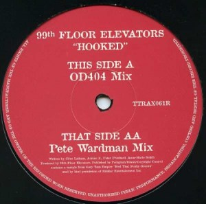 Tripoli Trax Pete Wardman mix of Hooked on 12inch vinyl