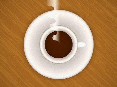 An illustration of a cup of coffee