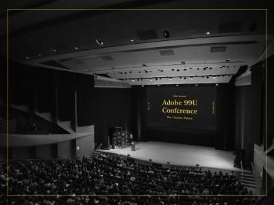The Adobe 99U Conference Main Stage at Alice Tully Hall, Lincoln Center
