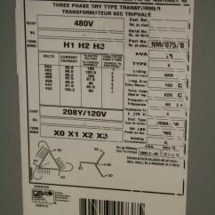 480v Transformer Wiring Diagram Blazer Led Trailer Lights Hammond Nmk075kb 75 Kva Primary To 208y
