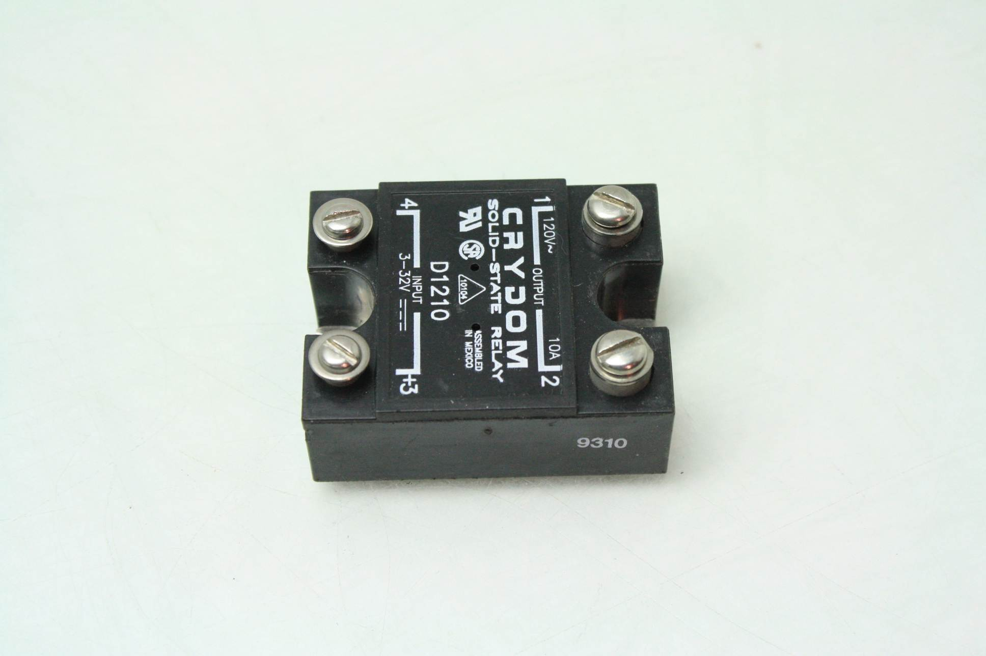 Crydom D1d210 Solid State Relay 3 32v Dc Control Switch