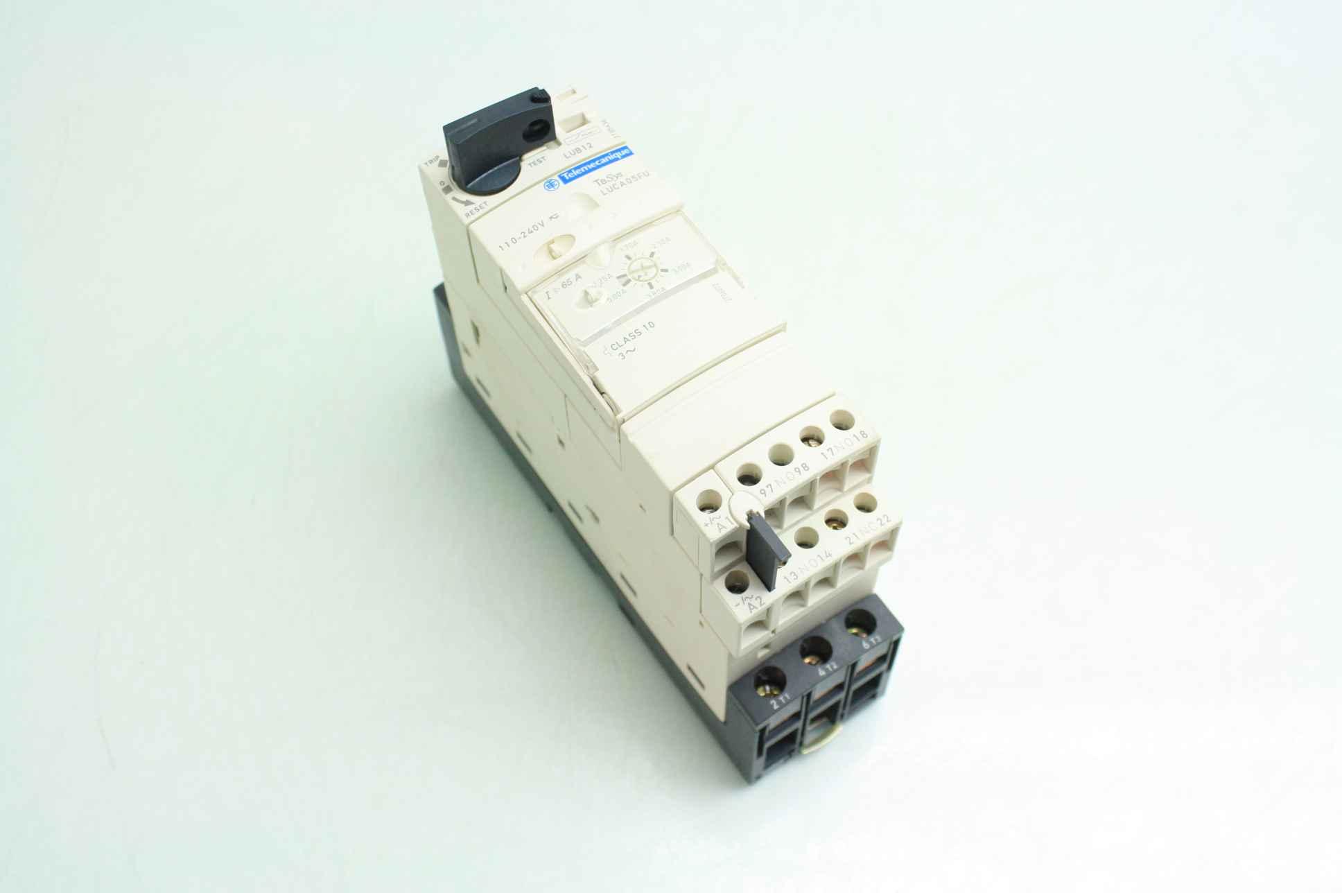 soft starter wiring diagram schneider alternator lub12 motor base 110 240v with luca05fu