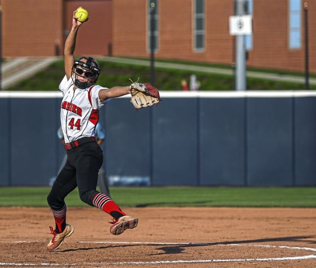 Fraziers Logan Hartman 44 Pitches Against Brandywine Heights During The Piaa Championship Game