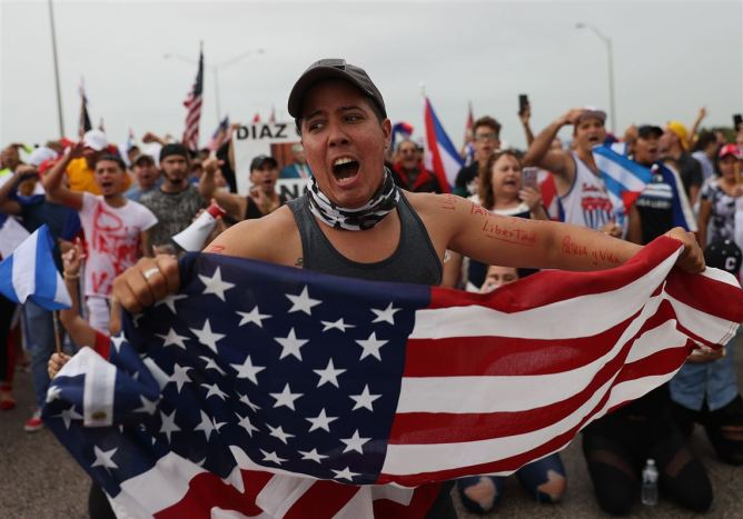 Cuba confirms 1 man dead during antigovernment protests | Pittsburgh Post-Gazette