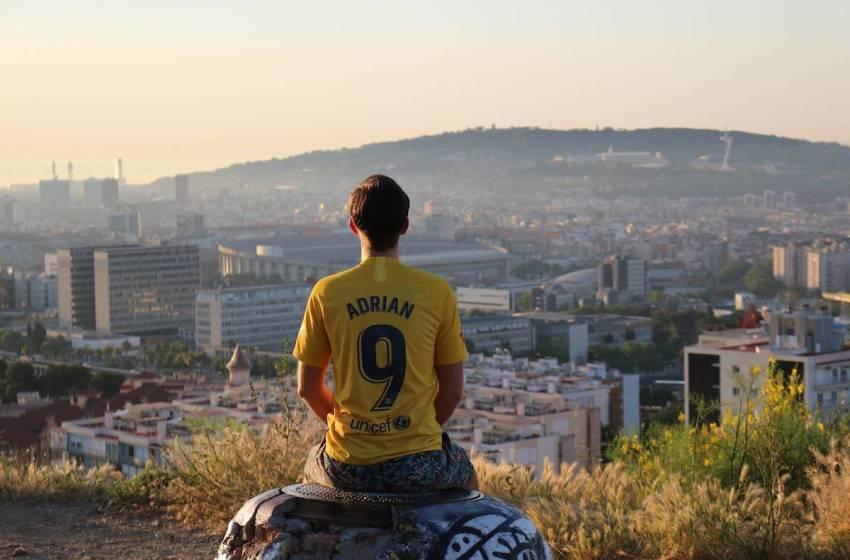 Punkt widokowy na Camp Nou