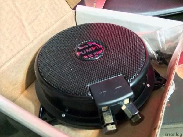 50Wハイパワー振動ユニット(DN-82305)買ってみた。