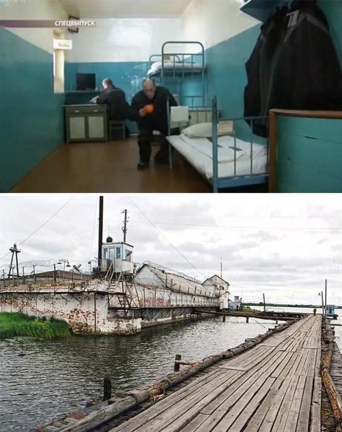 Petak Island Prison, Vologda, Russia