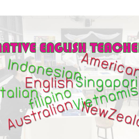 NATIVE ENGLISH TEACHER