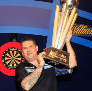 Gary Anderson darts player