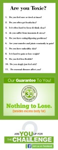 Are you Toxic? Join the 9 day detox   Are You Toxic? 4