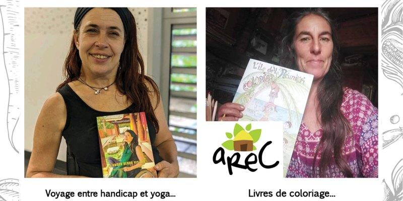 Affiche séance dédicaces Marché Solidari'Terre Hélène Langlet